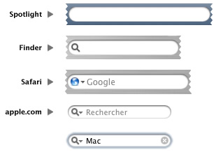 OS X searchboxes
